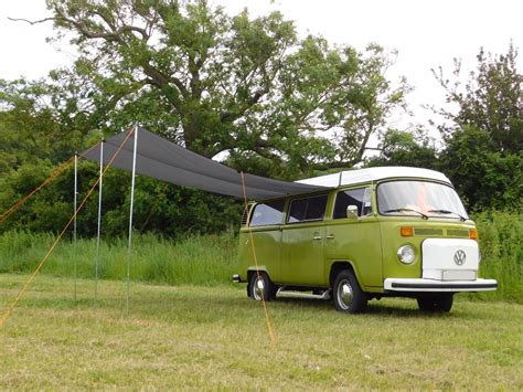 vw t2 awning vw t2 t25 cer van sun canopy awning anthracite grey