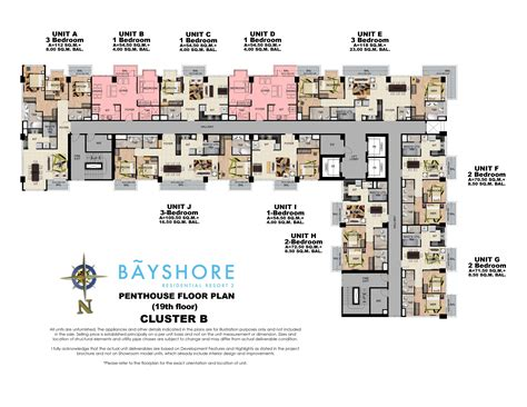 the shore floor plan bayshore residential resort