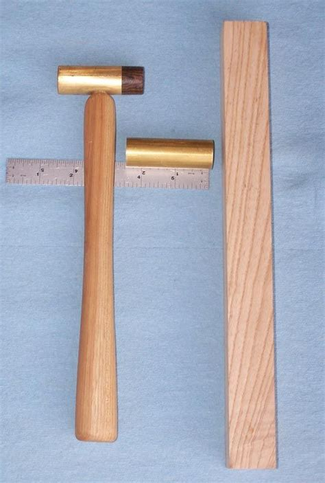 tutorial  making  kinds  small brass hammers