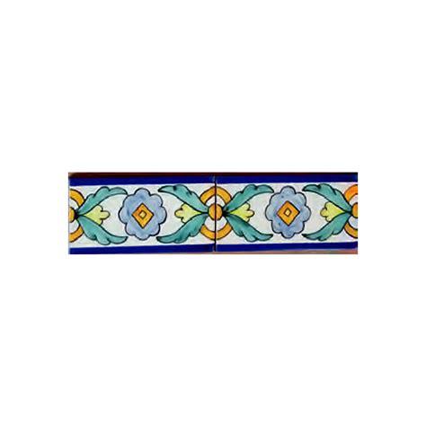 cenefa ceramica cenefa 01ag ce014102 azulejos pintados a mano
