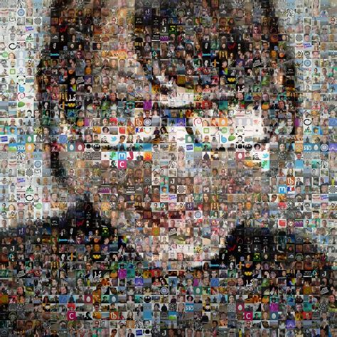 Photo Arts by Make A Photo Mosaic Poster From Your Friends Pictures