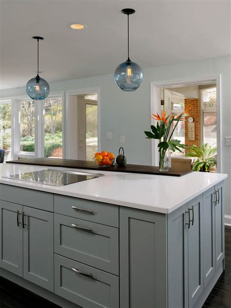 kitchen island options shaker kitchen cabinets pictures ideas tips from hgtv hgtv