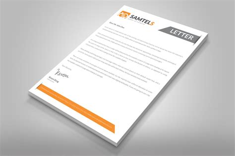 Business Letter Stationery Template 20 professional company letter templates graphic cloud