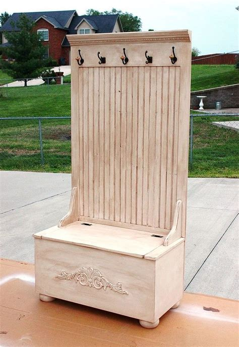 Outdoor Rabbit Hutch Plans Build A Hall Tree Excellent Place To Hang Jackets And