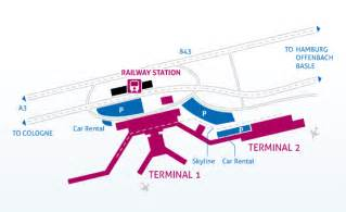 Car Rental From Amsterdam To Cologne Frankfurt International Airport Terminal Map