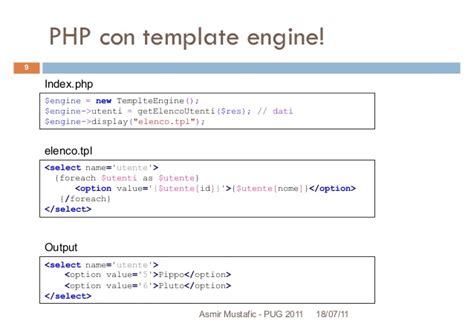 php template engine php template engine introduzione