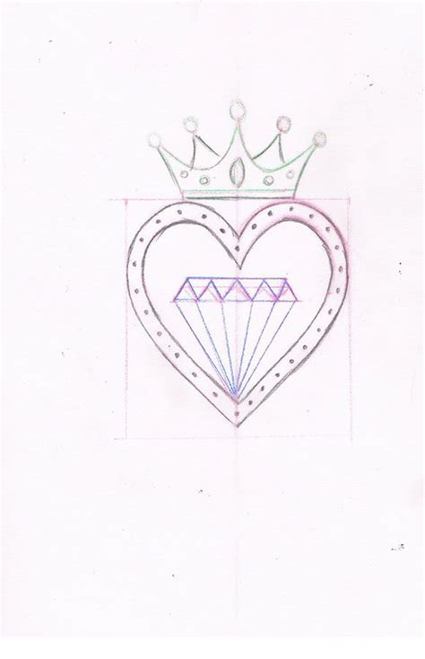 heart and crown tattoo designs the world s catalog of ideas
