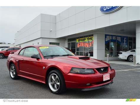 2004 mustang colors 2004 redfire metallic ford mustang gt coupe 78640223
