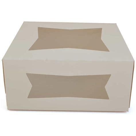 cake box with window 9 inch cake box with window the brenmar company