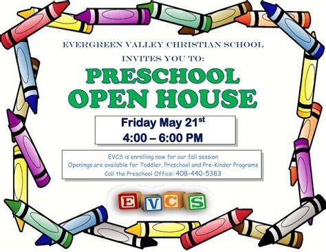 preschool open house flyer www imgkid com the image