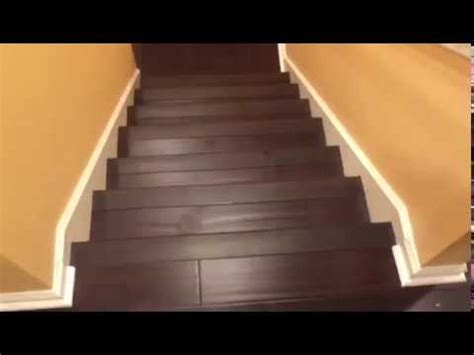 Bamboo Staircase Flooring Installation   www