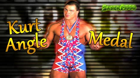 wwe theme songs kurt angle wwf kurt angle theme song quot medal quot arena effects hq