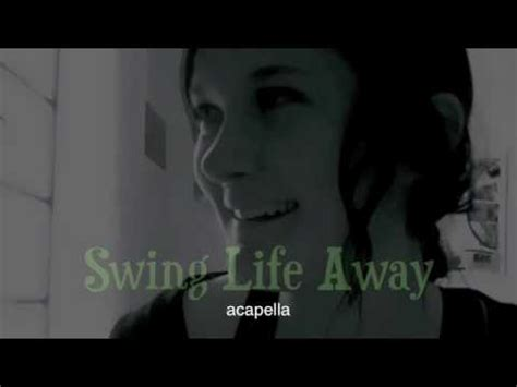 swing acapella swing life away rise against acapella multitrack youtube