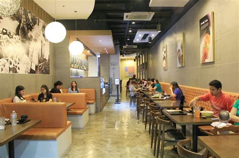 table korean fast casual restaurant interior