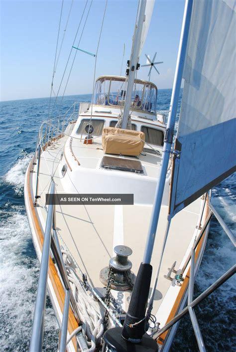 most comfortable liveaboard sailboat 1980 gulfstar sailmaster