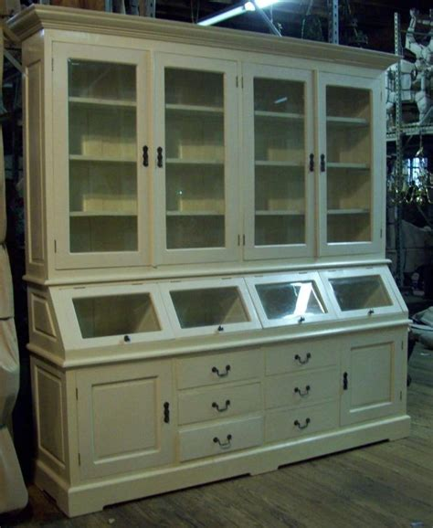 Large Kitchen Buffet Hutch Large White Kitchen Hutch Cabinet Cupboard Buffet