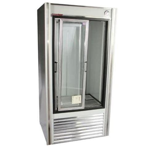 Universal Glass And Door 48 Quot Sliding Glass Door Reach In Refrigerator Universal Coolers Rw4 Elite Restaurant Equipment