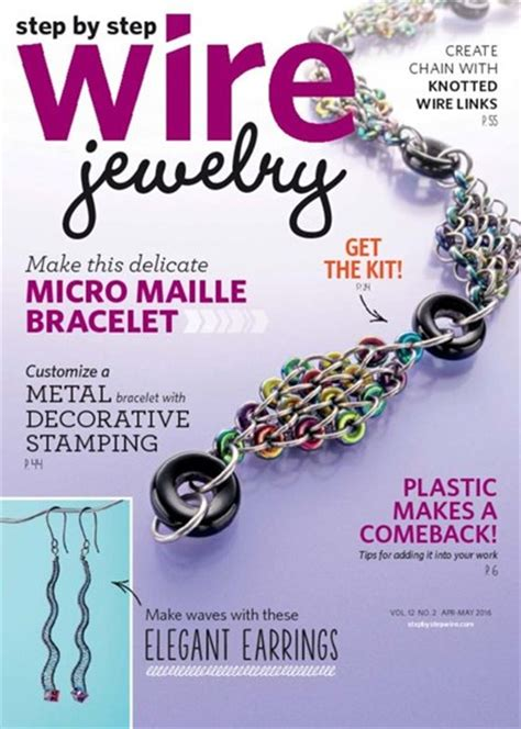 step by step jewelry step by step wire jewelry magazine subscription discounts