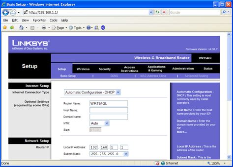 howto linux router image gallery linksys wrt54gl firmware