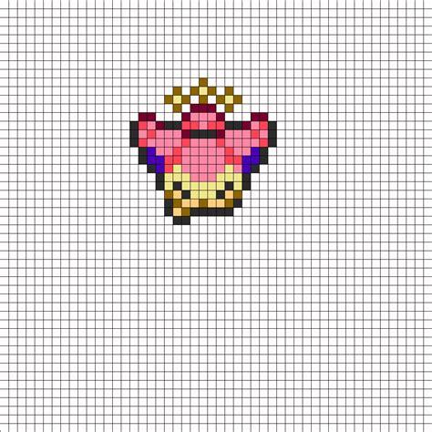 skitty overworld sprite perler bead pattern bead sprites