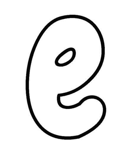 Lowercase N Coloring Page by Lowercase E Coloring Pages And Print For Free