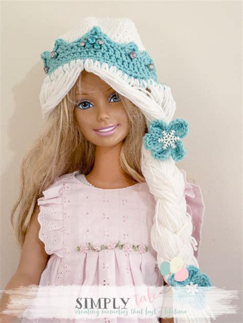 free pattern elsa crochet hat diy costume frozen elsa crochet hat and tiara patterns