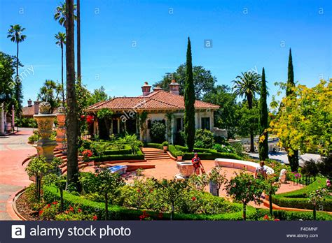 Publishers Clearing House En Espanol - the spanish style guest house designed by julia morgan at the hearst stock photo
