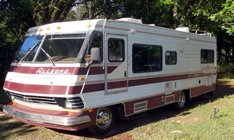 Sunrise Kitchen Cabinets by 1989 Allegro Class A 27 Motor Home New 454 V8 Chevrolet