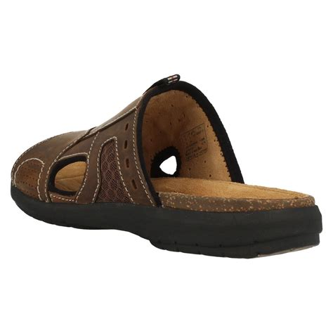 mule sandals for mens clarks classic leather mule style sandals unbryman
