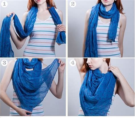 26 techniques about how to tie scarf around your neck