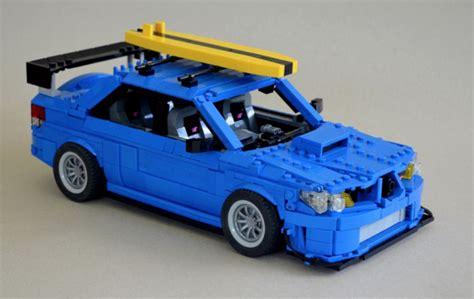 Lego Subaru Impreza Wrx Sti The Lego Car