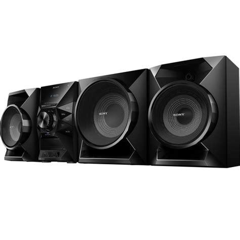 Hi Fi Shelf System by Sony Mhc Ecl99bt Hi Fi Shelf System Mhc Ecl99bt B H Photo