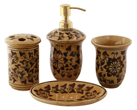 ceramic bathroom accessories sets bulk buy handmade marble bathroom accessories sets