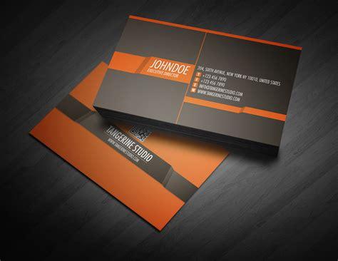 studio post card template tangerine studio business card business card templates