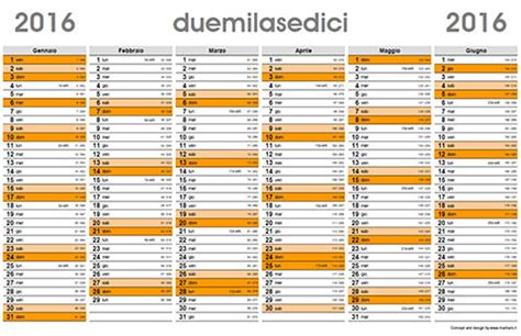 Calendario N Giorni Planner 2016 Il Calendario Planner Da Scaricare E Stare