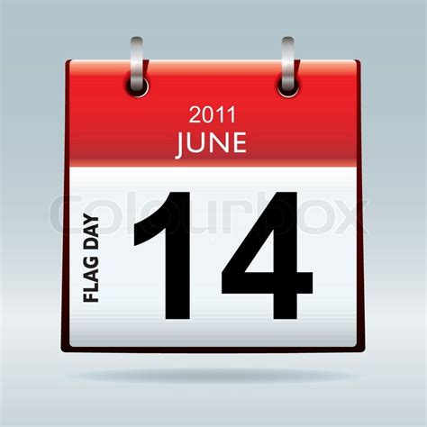 date symbol top flag icon symbol with flag day date and blue