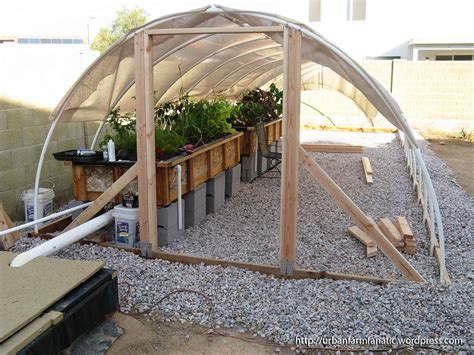 triyae backyard aquaponics greenhouse various