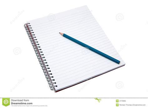 c de c1 cuaderno cuaderno y l 225 piz en blanco foto de archivo libre de regal 237 as imagen 2773065