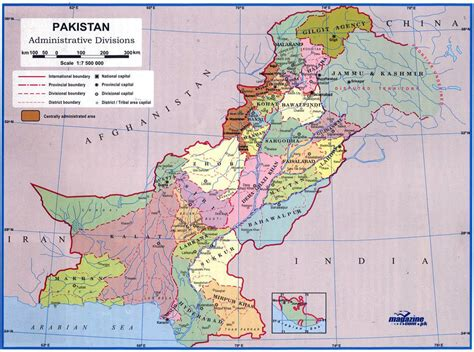 map city maps of pakistan detailed map of pakistan in