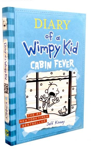 diary of a wimpy kid cabin fever book 6 wimpy kid
