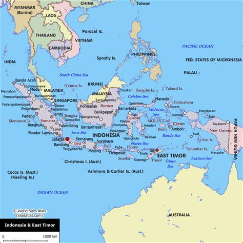 indonesie waar ligt indonesie
