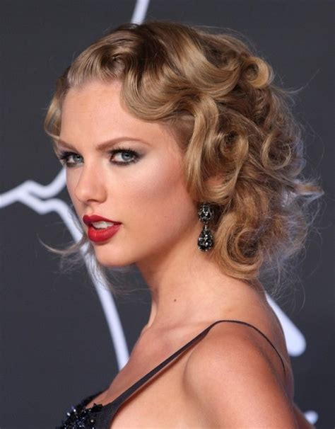 hairstyles night out taylor swift hairstyles flapper inspired hairstyle for