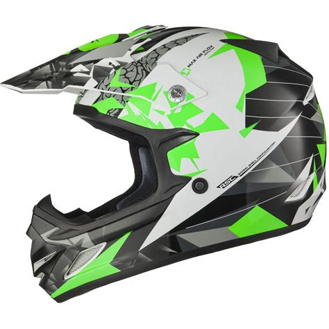 green motocross helmets shox mx 1 paradox black green motocross helmet mx