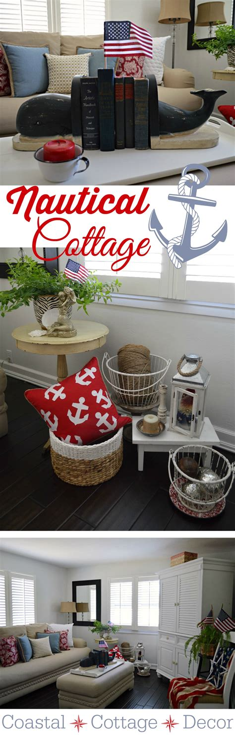 Home Decor On Summer Summer Cottage Nautical Home Decorating Fox Hollow Cottage
