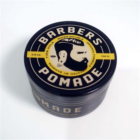 Pomade Sir Salon barbers pomade firm hold geekpomade