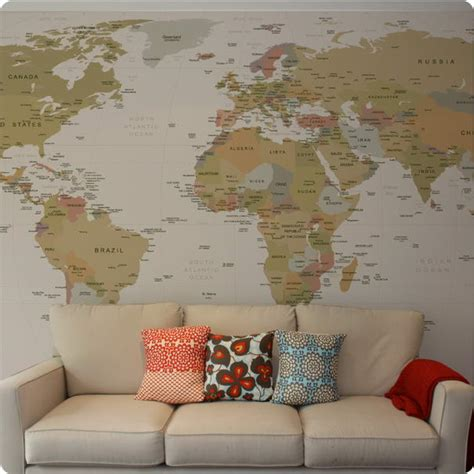 world map sticker wall 10 most stylish wall stickers for your room
