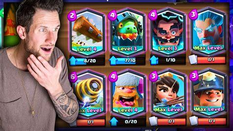 Clash Royale Legendary all legendary deck clash royale