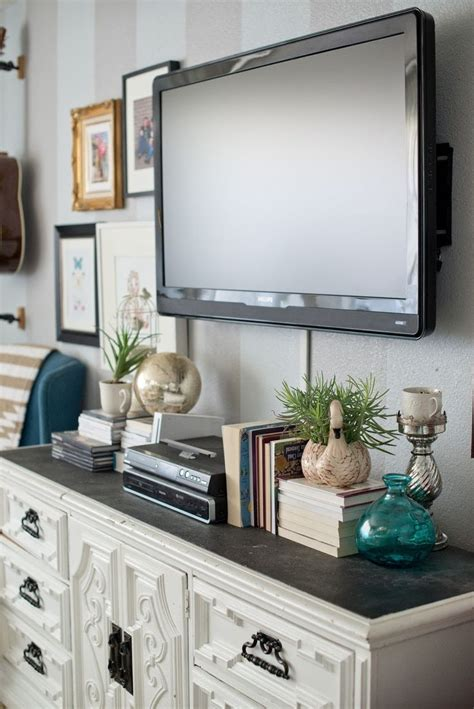 How High Should Bedroom Tv Be Best 25 Decorating Around Tv Ideas On Tv Wall