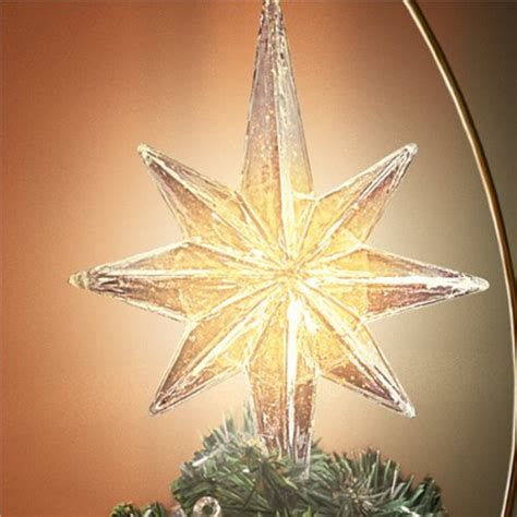 rotating christmas tree topper kinkade holidays in motion rotating illuminated treetopper animated decor by