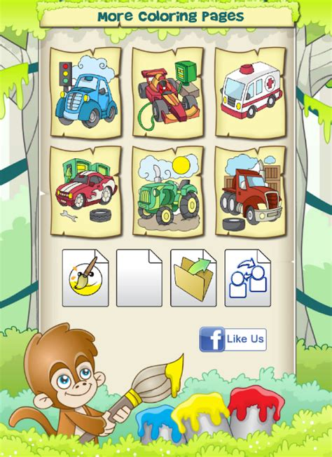 Auto Malen F R Kinder by Ausmalbilder F 252 R Kinder Autos Android Apps Auf Google Play